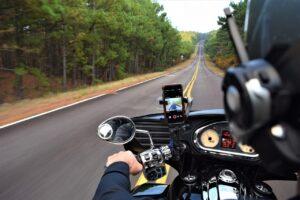 motorcycle, getaway, road trip